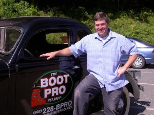 A talk with a boot expert.