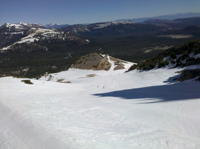 Mammoth in July
