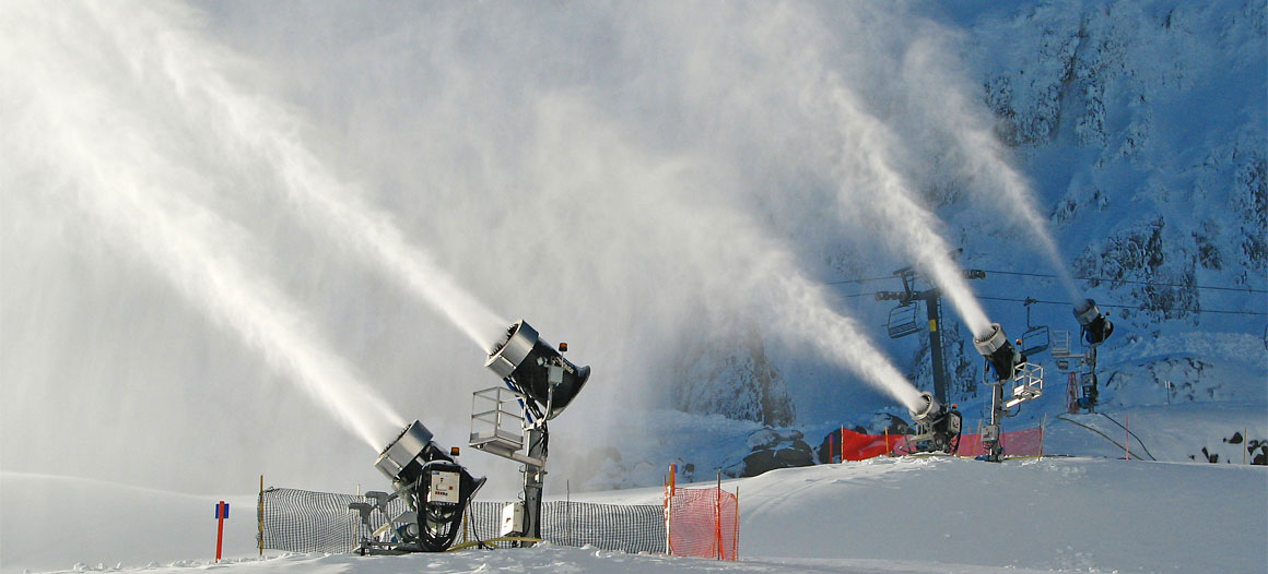 Thanks, snowmaking.