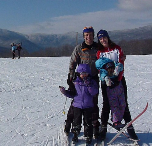 Laury Saligman and family.