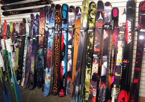 The great mystery of ski length.