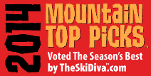 2014 Mountain Top Picks: TheSkiDiva's Third Annual Best-Of Awards