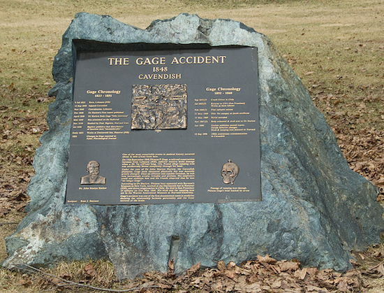 Phineas Gage Marker