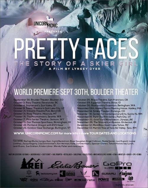 Pretty Faces: A review of Lynsey Dyer's all-female ski movie