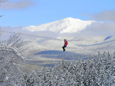 Bretton Woods Canopy Tour, from the Mount Washington Valley Chamber of Commerce