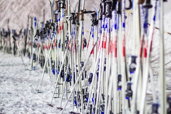 The Great Ski Pole Mystery.