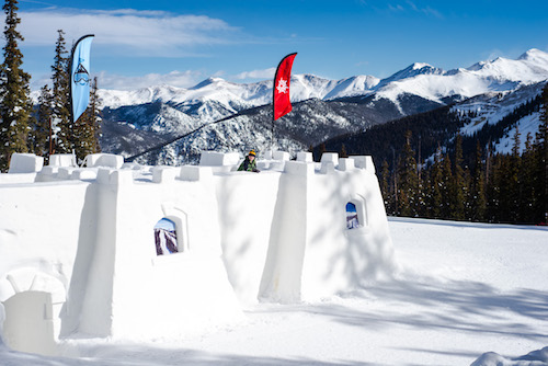 Snow Fort, photo courtesy of Keystone Resort.
