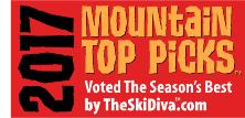 Announcing TheSkiDiva's Best of the Year: Our 2017 Mountain Top Picks
