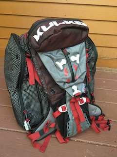 The Micro Pack attaches easily to the Powder Trekker boot bag.