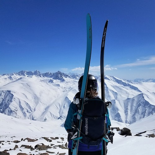 Gulmarg, India - Looking out over the Himalayas