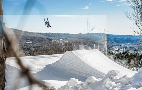 Carinthia Terrain Park, courtesy of Mount Snow