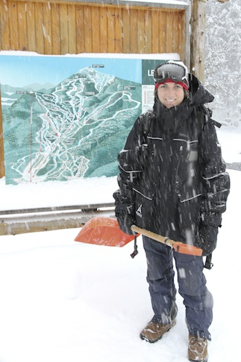 Time To Make The Snow: A Woman's Perspective