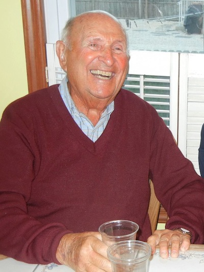 Happy 90th birthday, Dad. And thanks for the skiing.