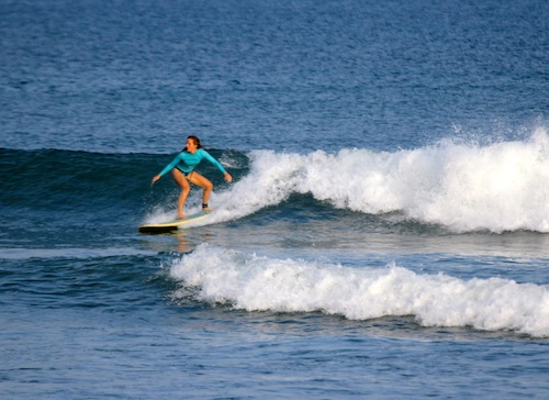 Surfing your way to better skiing.