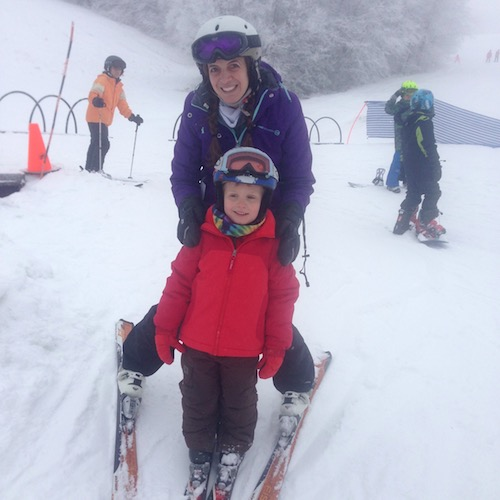 Here's to the Ski Moms!