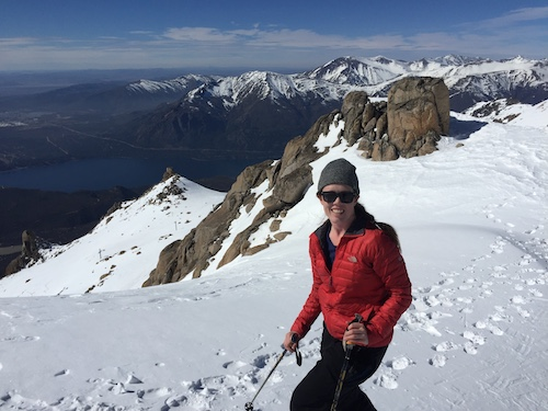 A chat with Laura Davies, or how to ski 15 countries in one year